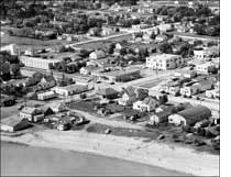 photo of aerial view of Gimli