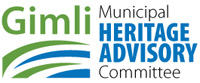 logo for gimli municipal heritage advisory committee